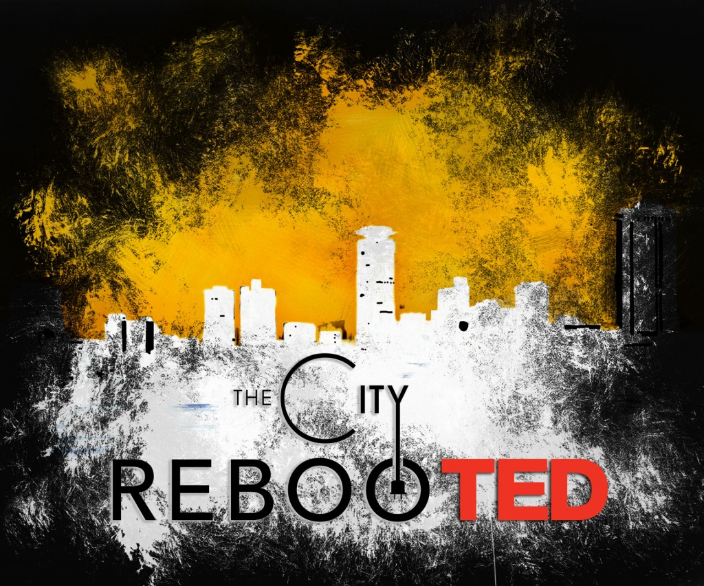 City Rebooted Black Logo